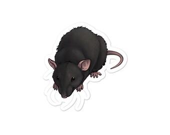 Dwarf Rex Rat Vinyl Sticker