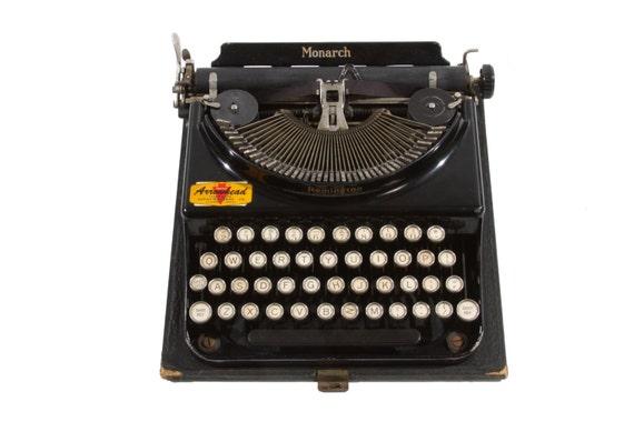 typewriter working typewriter Remington typewriter fully functional typewriter qwerty Remington Monarch typewriter portable typewriter