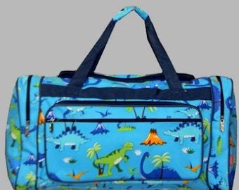 c415221d2f6 Personalized Duffle Bag-Dinosaur Duffle Bag Boys Duffle Bag Dino Bag  Luggage
