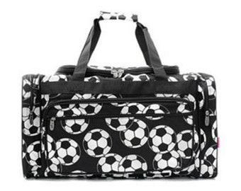 Personalized Duffle Bag-SOCCER Duffle Bag GYM BAG Luggage Overnight Bag  Sports Bag 68846f1561