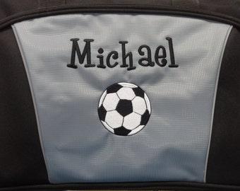 91ebf12bb3 Personalized Duffle Bag Gym BAG Gymnastics Cheer SPORTS Bag Grey Duffle Bag