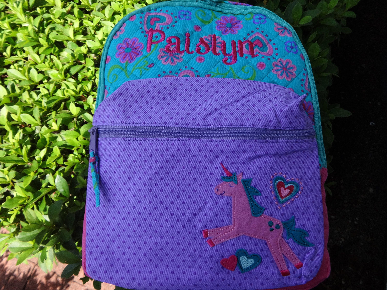 Cute Toddler Preschool Bags Stephen Joseph Girls Quilted Unicorn Backpack