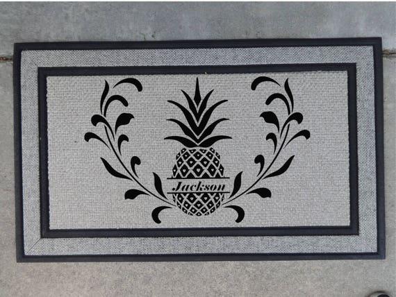 Personalized Doormat Custom Doormat Wedding Gift Etsy