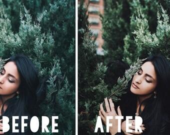 Southwest - Photoshop CS3+ Action | Vintage, Portrait Retouching, Color Enhancement, Muted tones, Warming, Sepia, Preset