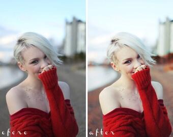 Golden Grass - Photoshop CS3+ Action | Golden Hour, Afternoon, Portrait Retouching
