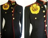 Veste Rouge Militaire Marine Bleu Vintage À Articles Similaires OqSfE88