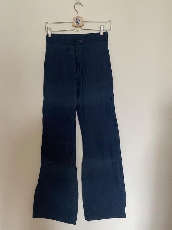 DEADASTOCK Vintage 1970's BELL BOTTOM jeans women'