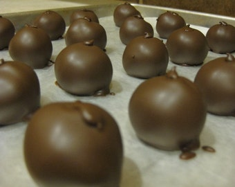 Buckeyes - Chocolate Covered Peanut Butter Balls 1 lb.