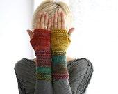 Fingerless gloves woman, knitted gloves women, long arm warmers, wrist warmers, fingerless gloves knit, fingerless mittens arm warmers women