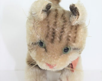 Stuffed Tabby Cat Etsy