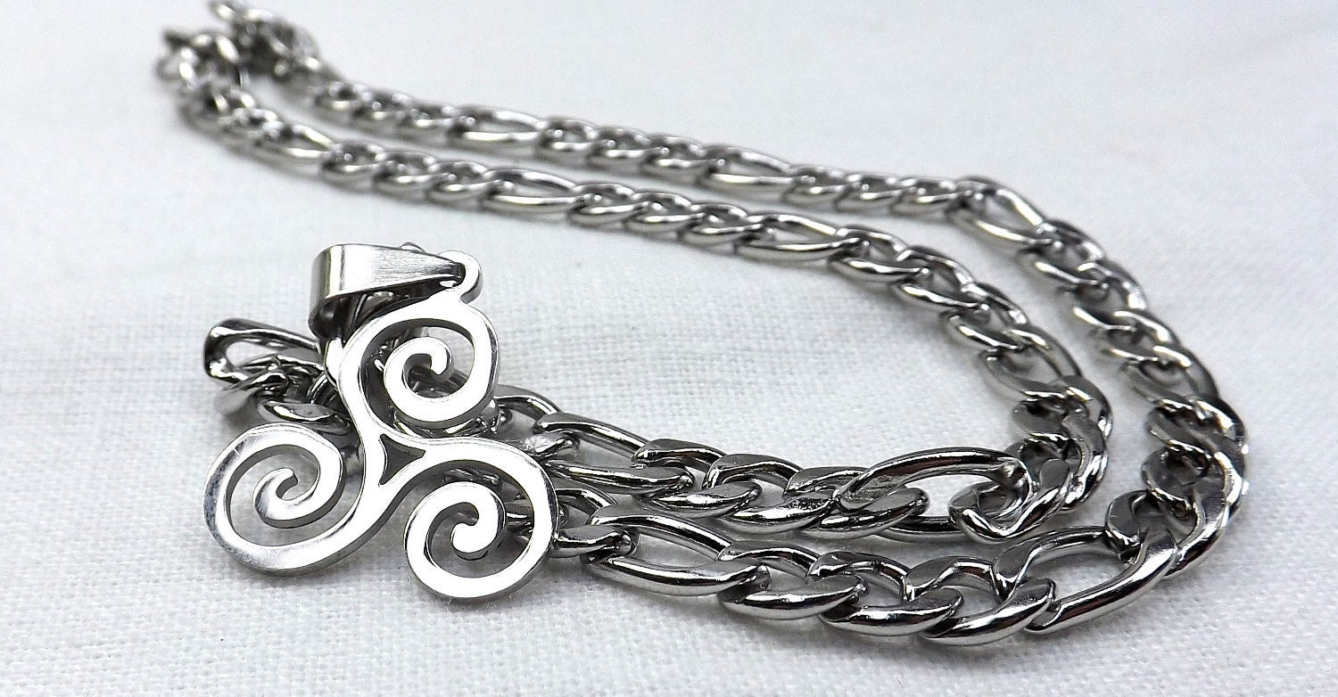 Stainless,Steel,bdsm,jewelry,,Triskele,triskelion,necklace,,three,spiral,pendant,,gift,bdsm gift,stainless steel,bdsm jewelry,submissive jewelry,triskele jewelry,triskelion necklace,three spiral pendant,bdsm necklace,mens necklace,bdsm steel chain,bdsm steel necklace,triskelion bdsm,spirals bdsm
