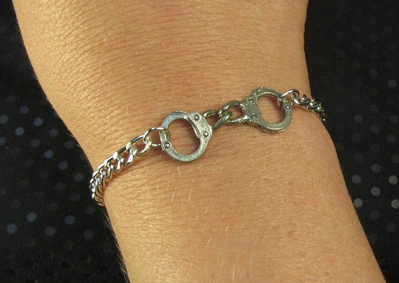 Submissive bracelet lifestyle jewelry dom sub dominant submissive - product image