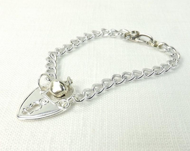 Heart,Lock,Charm,Bracelet,Slave,Bell,bracelet,discreet,jewelry,Jewelry,slave,fetish,heart,slave jewelry,discreet jewelry,slave bell bracelet,heart lock charm,charm bracelets,chain bracelet, bdsm gift, bdsm jewelry
