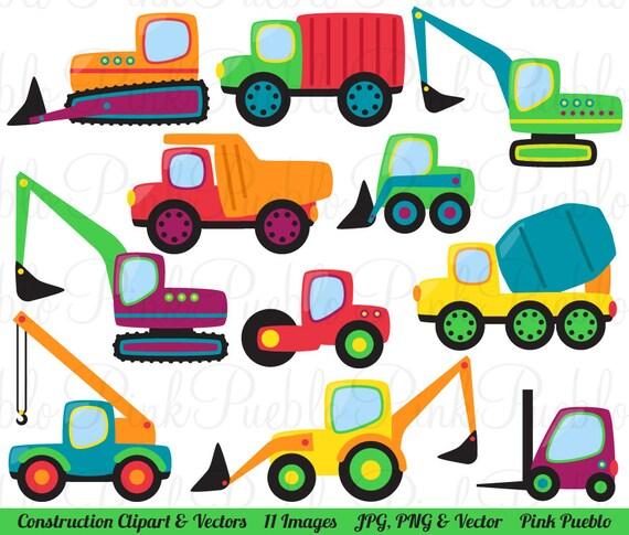 construction transportation clipart clip art vectors great for kids rh etsystudio com commercial clip art downloads free commercial clip art free