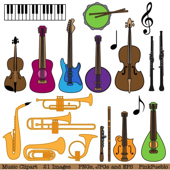 musical instrument clipart clip art music clip art clipart etsy rh etsy com musical instrument clip art free musical instruments clip art black and white