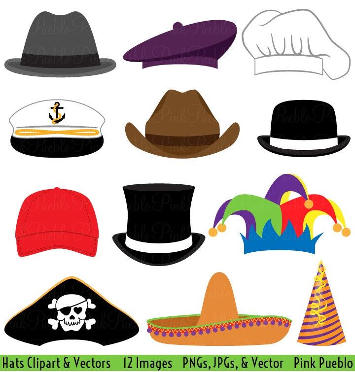 hats clipart clip art party hat top hat clipart clip art etsy rh etsy com hats clipart images hat clip art outline
