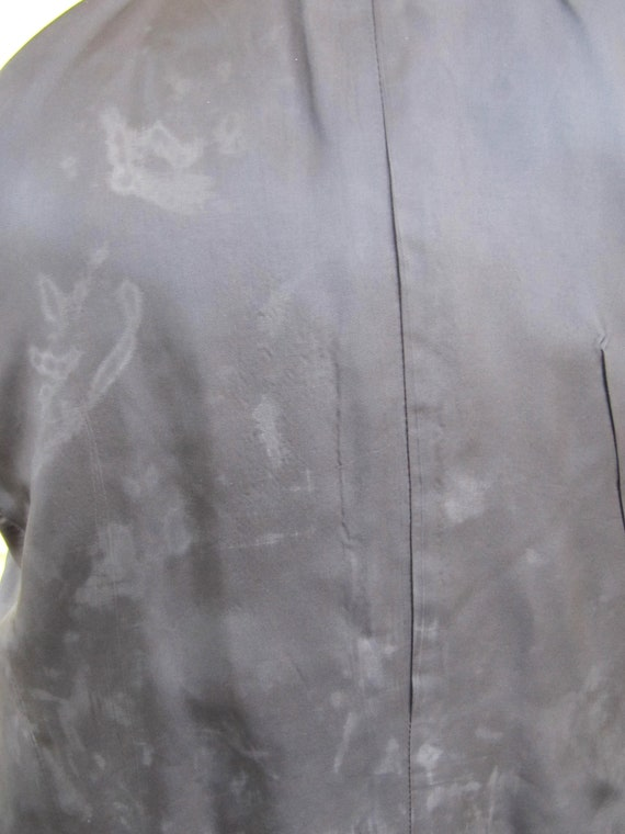 Red Plaid Sasson Jacket Blazer Velvet Collar Size… - image 2