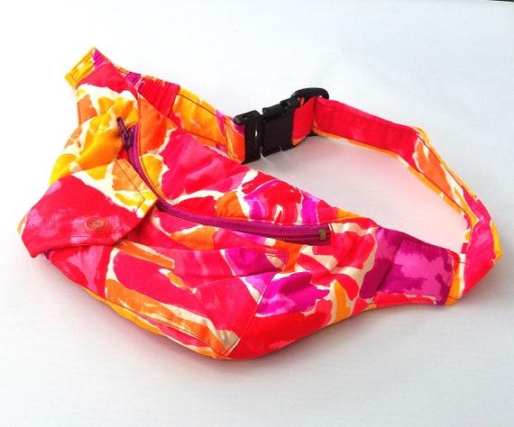 Neon Pink Orange Purple Fanny Pack by Obermeyer 19