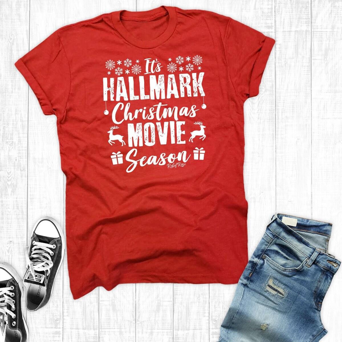 Markenzeichen von Weihnachten Film Shirt Hallmark Movie | Etsy