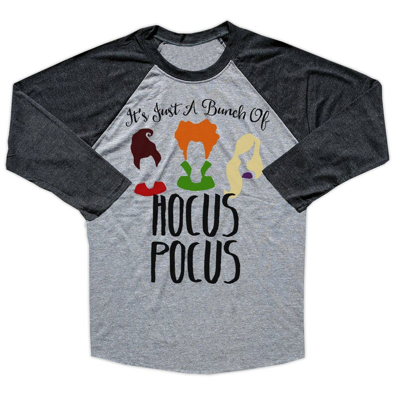 26929ad6b Hocus Pocus Shirt Hocus Pocus Raglan Sanderson Sister | Etsy