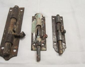 Slide Bolts,Vintage Door Lock Hardware