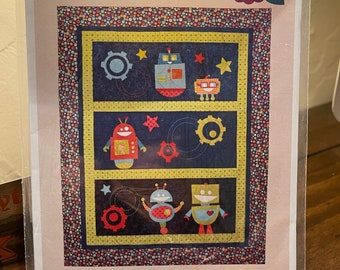 Beta Bots Quilt Pattern by SarahRose Quilts SQ103