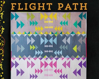 Flight Path Quilt Pattern by Alison Glass & Mary Menzer