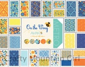 On the Wing Fat Quarter Bundle by Abi Hall for Moda