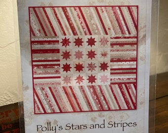 Polly's Stars and Stripes Quilt Pattern by Mince & Simpson  MS1505