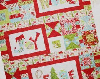 Seasons Greetings Quilt Pattern by Crazy Old Ladies