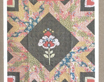 Sarah Fielke Pomponella Quilt Pattern