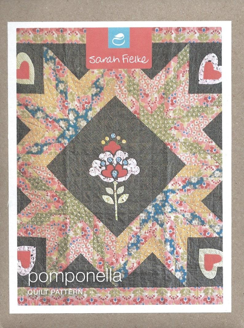 Sarah Fielke Pomponella Quilt Pattern image 0