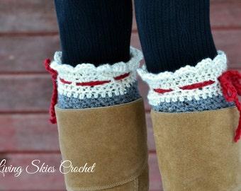 Nettie Boot Cuff Crochet Pattern