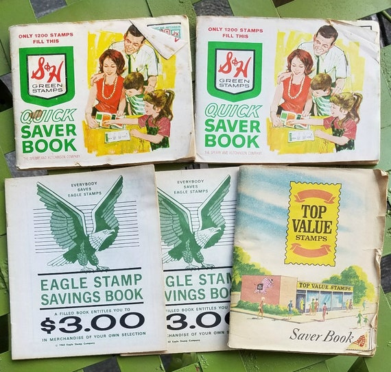 Lot Of SH Top Value And Eagle Saving Stamp Booklets