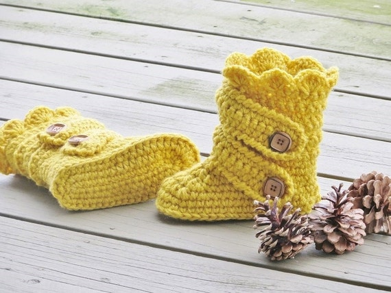 Crochet Pattern For Childs Boots Kids Boots Crochet Etsy