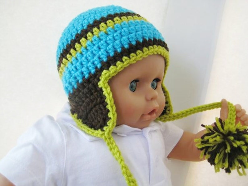 29d02123893 Crochet Hat Pattern Newborn Baby to Adult Boy and Girl