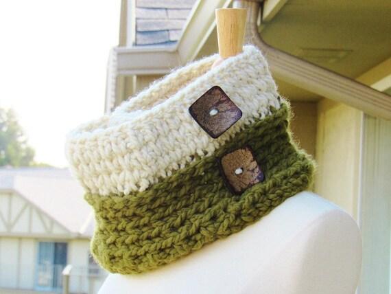 Crochet Chunky Cowl Pattern Crochet Cowl Pattern Knit Look Etsy