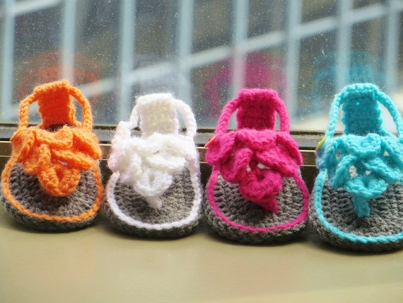 Crochet Pattern Crochet Baby Sandals Pattern Crocodile Etsy