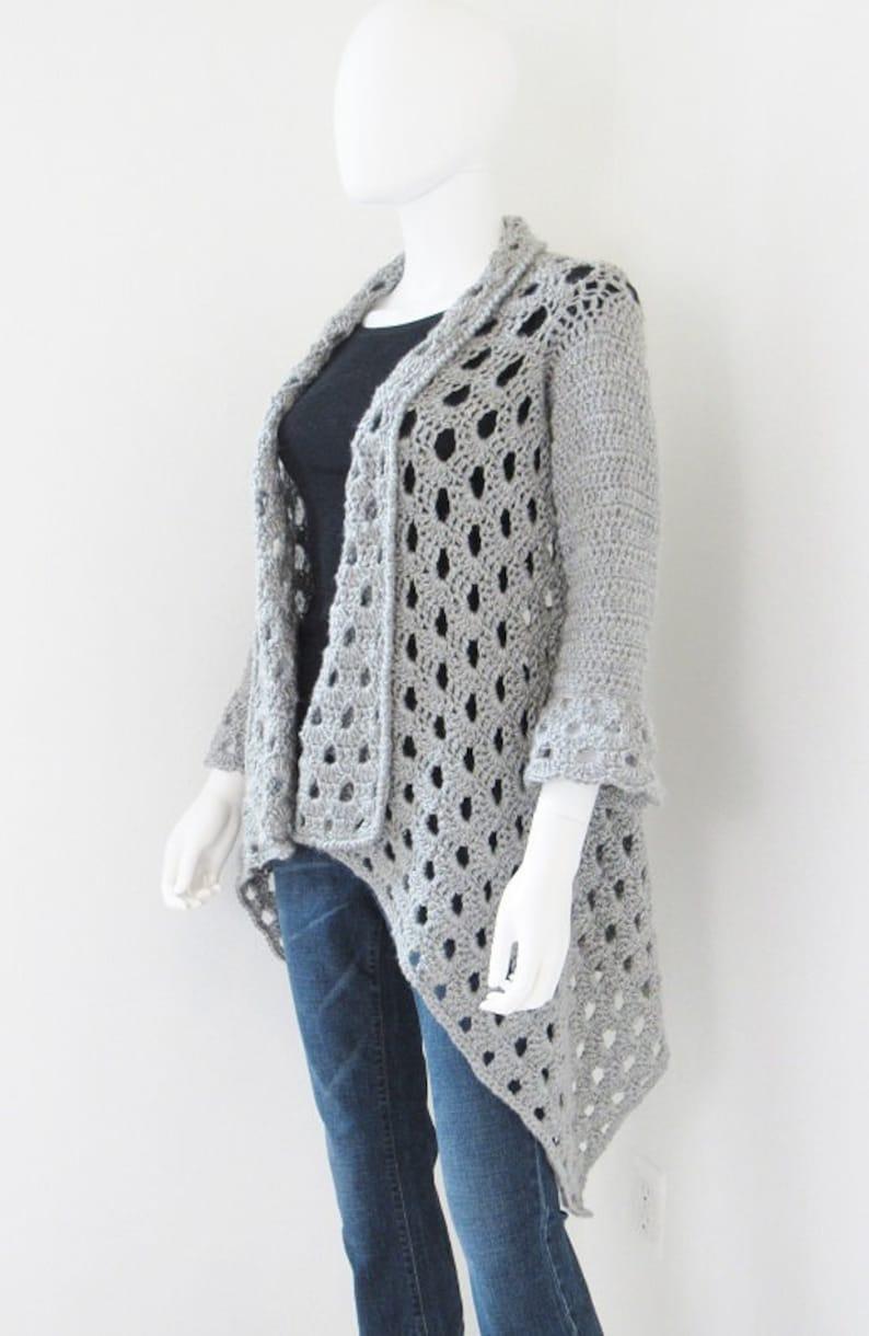 Crochet Cardigan Pattern Crochet Cardigan Pattern Woman Etsy