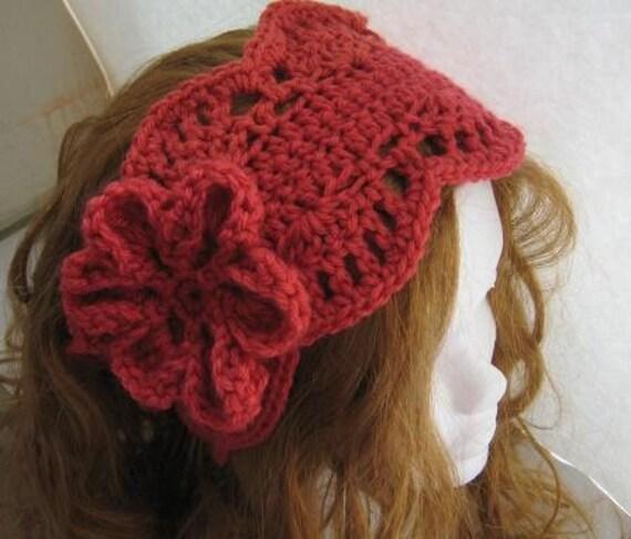 Crochet Ear Warmer Pattern For Women Pdf Crochet Pattern Etsy
