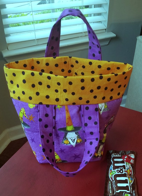 Halloween Treat Bag, Trick-or-Treat Bags, Halloween Totes