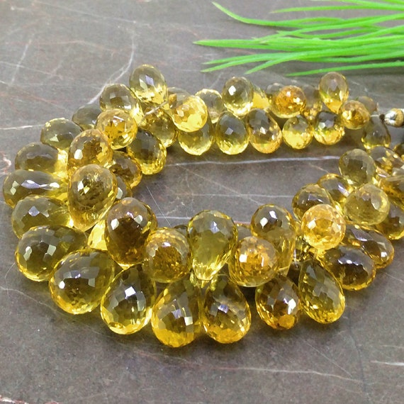 Natural Beer Quartz 10-16.5mm Faceted Round Gemstone Beads  Approx 14 pieces on 8 Inch long strand  JBC-ET-148790