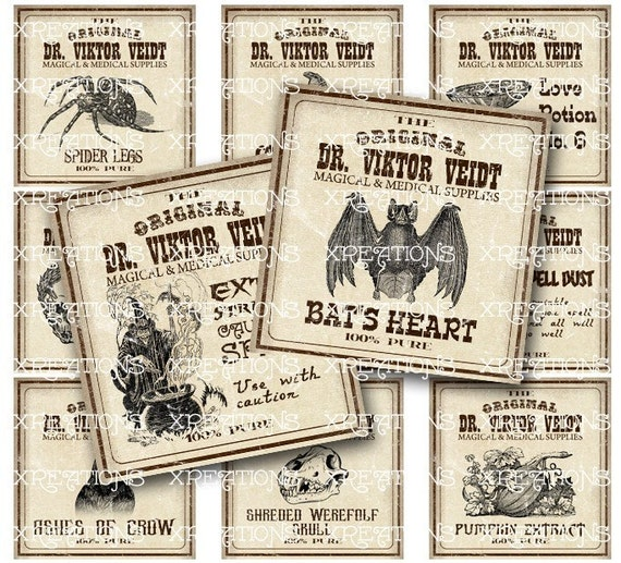 photo regarding Printable Potion Labels identify Antique Apothecary, Potion Labels, Basic Style and design Apothecary