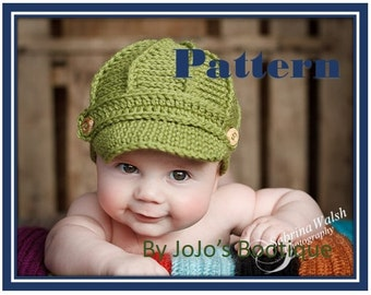 2ba3bbb9c 50% off how to make a baby newsboy hat uk 9035b fe9d6