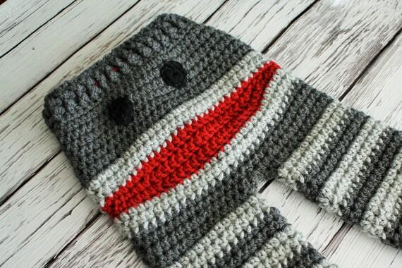 Sock Monkey Hose Affe Hose häkeln Babyhosen Sock Monkey | Etsy