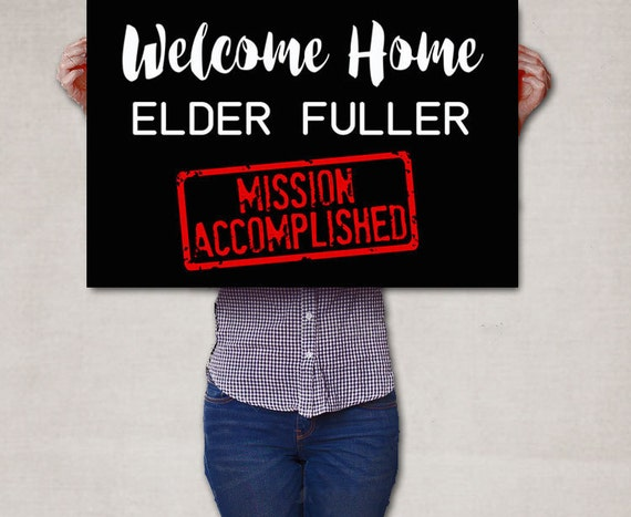 Missionary accomplished
