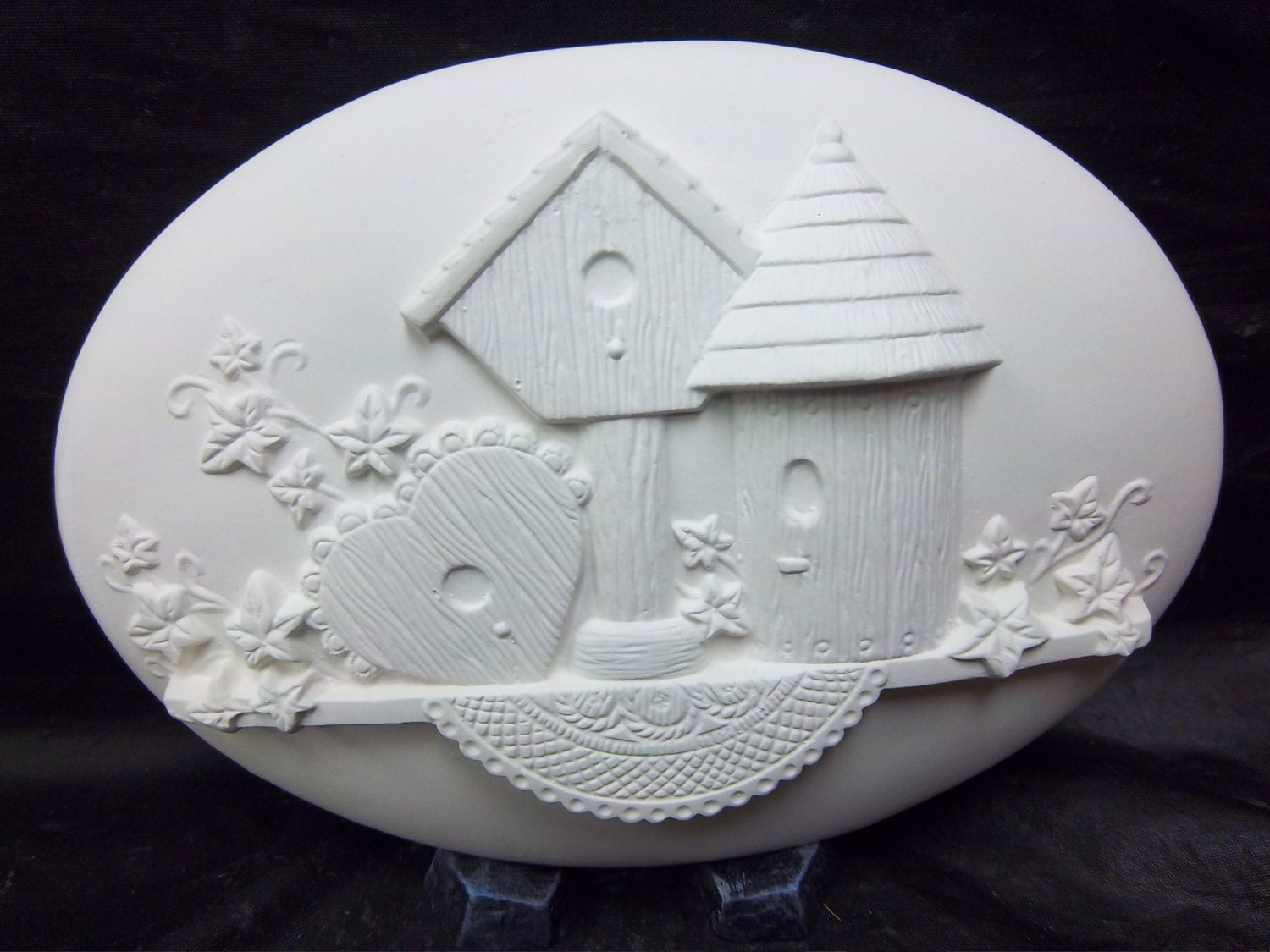 Birdhouse Insert D 1608 U Paint Ceramic Bisque For Welcome