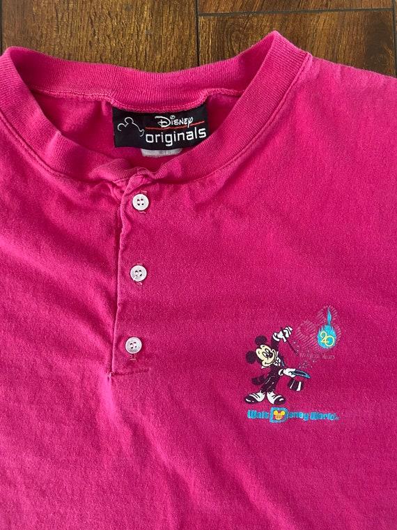 Walt Disney world single stitch crew neck