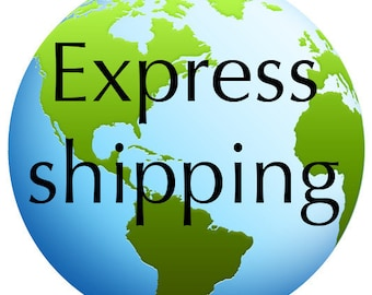 EXPRESS SHIPPING - Add this to your basket to upgrade to faster delivery, get tracking or add insurance
