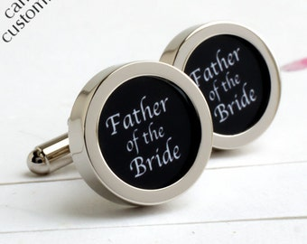 Wedding Cufflinks for the Father of the Bride